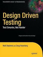 Design Driven Testing 9781430229438, Paperback, Good Condition