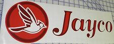 2- Jayco Decals Popup Decal Pop Up Camper - Burgundy/red