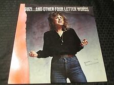 1979 Suzi Quatro - And Other Four Letter Words LP EX/VG+ RSO ‎– RS-1-3064