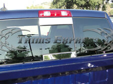 2002-2008 Dodge Ram 1500/03-09 2500 2Pc Rear Window Tailgate Trim Molding Decal