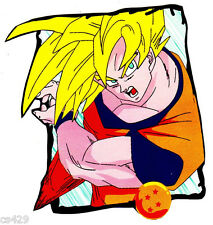 """5"""" DRAGONBALL Z DBZ ANIME  WALL STICKER GLOSSY BORDER CHARACTER CUT OUT"""