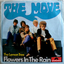 """7"""" 1966 GERMAN PRESS VG+ ! THE MOVE Flowers In The Rain"""