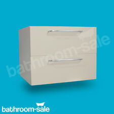 Waterside Stone Brown 600 Wall Hung Vanity Unit including worktop RRP £369