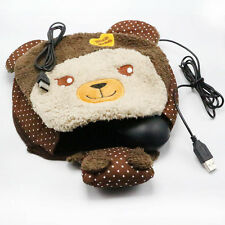 Cute Bear Winter USB Hand Warm Mouse Pad Heated Mousepad Computer Mousepad 1x