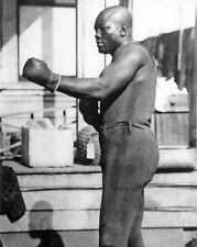 Heavyweight Champion JOHN 'JACK' JOHNSON Glossy 8x10 Photo Boxing Print Poster