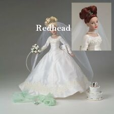 TONNER Tiny Kitty Collier FOREVER YOURS Bridal Hat Box Set REDHEAD