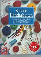 SCHONE HANDARBEITEN - KNITTING QUILTING ETC IN GERMAN - CRAFT