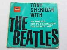 THE BEATLES   ORIGINAL 1964  U.K.   POLYDOR  E.P.    MY BONNIE