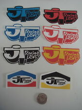 Old School JT RACING BMX decals