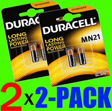4 x BATTERY PILE 12V 23A A23 23AE MN21 MN 21 23 TELECOMMANDE ALARME - 2 x 2PACK