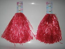 CHEERLEADER POMPOM SET  VARIOUS COLOURS- FOR FANCY DRESS