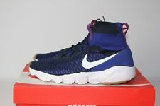 Nike Air Footscape Magista Flyknit Deep Royal Blue & White 9 42.5 Free Mercurial