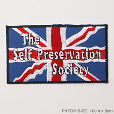 SELF-PRESERVATION SOCIETY Mini Cooper Italian Job Logo Patch / MINI