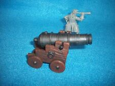 Revoltionary War/Pirate Naval Gun 1/32 Scale NEW - Papo