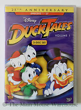 Ducktales Disney Channel Classic Cartoon Scrooge Huey Dewey & Louie Volume 1 DVD