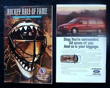 1994 HOCKEY HALL OF FAME SPRING '94 FAN GUIDE & MAGAZINE
