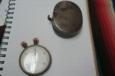 Antique Semikrograph Heuer Stopwatch Pocket Watch w/ Box Pat. T3392/93 E&M 1476