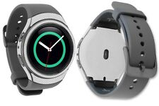 Skinomi Silver Carbon Fiber Skin+Screen Protector for Samsung Gear S2 Watch 42mm