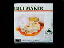 Microwave Idli Maker  Rice Cakes (Makes 12 Idlis In Just 4 Mins) - EASY USE, NEW