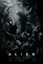 ALIEN COVENANT 2017 MOVIE POSTER DS HoWoNo 2 Sided ORIGINAL ADV 27x40 Xenomorphs