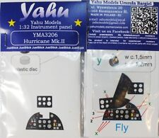 Yahu Models YMA3206 1/32 Hurricane Mk.II Instrument Panel for Fly