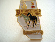 PINS RARE STAMPEDE SADDLERY 1990 CANADA RODEO CHEVAL