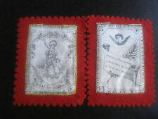 Escapulario antiguo De Santa Bibiana Martir  santino holy card santini 979
