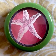 MAC Hipness Blush To The Beach Collection Coral Pink Powder Rare Frost Wash Dry