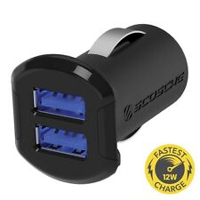 SCOSCHE 12 Watt 2 Port Dual USB Car Charger fo iPod touch (4th/5th gen)
