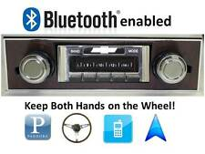 Bluetooth Enabled Stereo 67-68 Camaro WOOD dash AM FM Radio USB, iPOD 300w