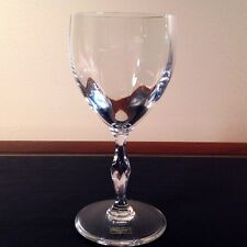 New Saint St Louis Bartholdi Continental Wine Goblet Crystal Glass