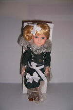 "14"" Porcelain Doll DUCK HOUSE HEIRLOOM DOLLS CHANTAL NUMBERED w/Box VERY NICE!"