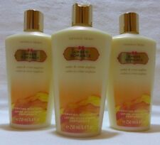3pc Victoria's Secret Hydrating AMBER ROMANCE body lotion set of 3