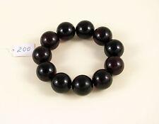 XXL PREMIUM Cherry baltic AMBER bracelet 46g Bernstein 19 mm round beads red 琥珀
