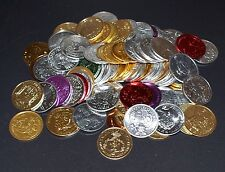 LOT OF 200 ASSORTED NEW ORLEANS MARDI GRAS PARADE DOUBLOONS 1960'S-1980'S