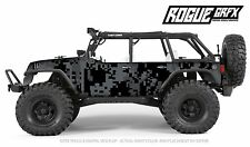 Axial SCX10 Rubicon or CRC Edition Body Graphic Wrap Skin- Urban Camo
