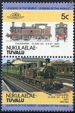 1891 LSWR / SR Calbourne Class O2 (Isle of Wight) Train Stamps / LOCO 100