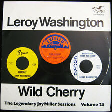 Leroy Washington - Wild Cherry - Jay Miller Vol 25 - Flyright 574 - New