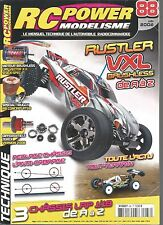 RC POWER MODELISME N°88 RUSTLER VXL BRUSHLESS / TRUGGY / CHASSIS LRP 1/18
