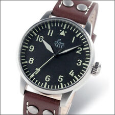 Laco Augsburg Type-A Dial Automatic Pilot Watch with Sapphire Crystal #861688