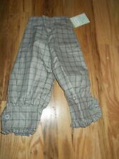 NWT PERSNICKETY KNICKERS GRAY STRIPE SIZE 7