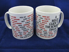 Somerset langue locale sayings traduction anglaise pour mug