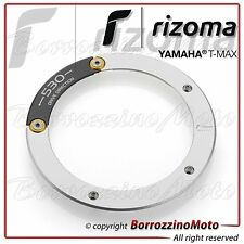 RIZOMA ZYF014A COVER COPRI PULEGGIA CINGHIA ARGENTO YAMAHA T-MAX TMAX 530 2016