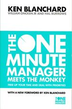 The One Minute Manager Meets the Monkey by Ken Blanchard NEW