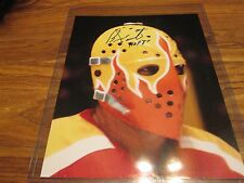BERNIE PARENT WITH HOF 8X10 AUTOGRAPH IN HOLDER WITH COA