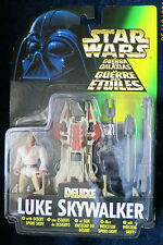Star Wars Deluxe Luke Skywalker with Desert Sport Skiff, Kenner 1996 Rare