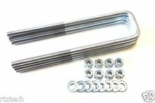 "TACOMA 1995-2016 REAR U BOLTS 11"" LONG 2.5"" LEAFS  4WD MADE IN THE USA 6 LUGS"