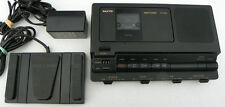 Sanyo TRC-8080 Cassette transcriber, Ac adapter , Pedal, Headset WARRANTY