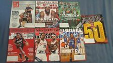 (7) Different Pro Basketball Sports Illustrated SI Issues Previews Jordan LeBron