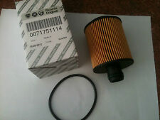 Genuine Fiat Doblo Oil Filter 1.3 Multijet 2010-on Model P/N 71751114
